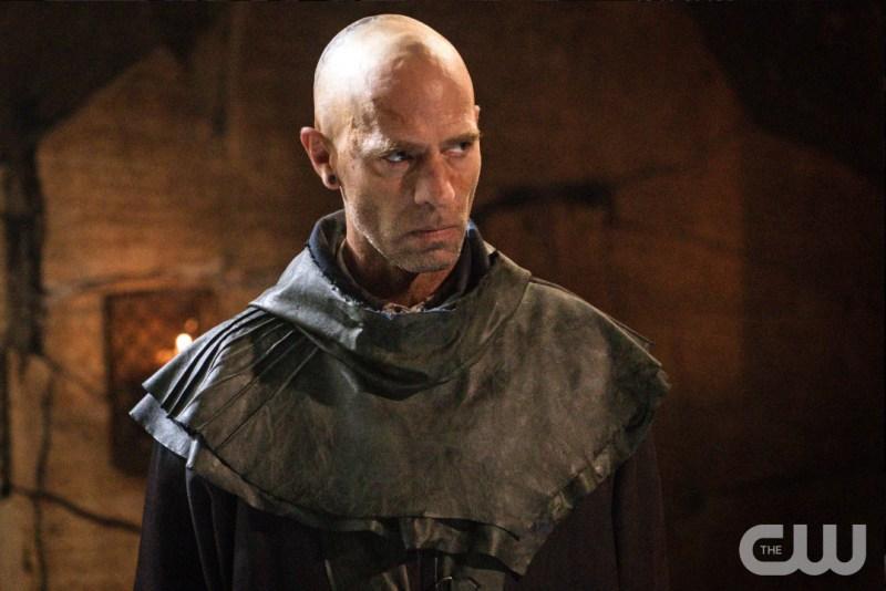 Neil Sandilands as a sad bald.