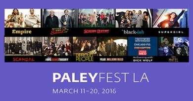 PaleyFest2016