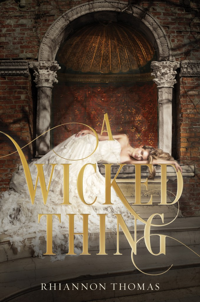 The cover of A Wicked Thing.