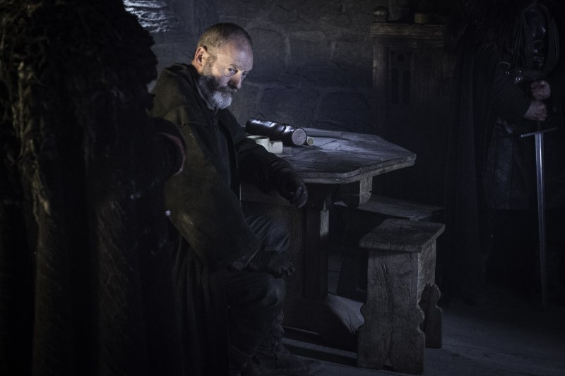 Pictured: Liam Cunningham as Davos Seaworth (Helen Sloan/HBO)