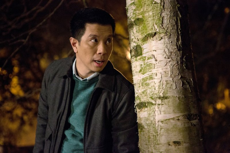 "GRIMM -- ""Good to the Bone"" Episode 518 -- Pictured: Reggie Lee as Sgt. Wu -- (Photo by: Scott Green/NBC)"