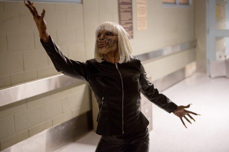 "GRIMM -- ""The Beginning of the End"" Episode 522 -- Pictured: Katie Eischen as Eve creature -- (Photo by: Scott Green/NBC)"