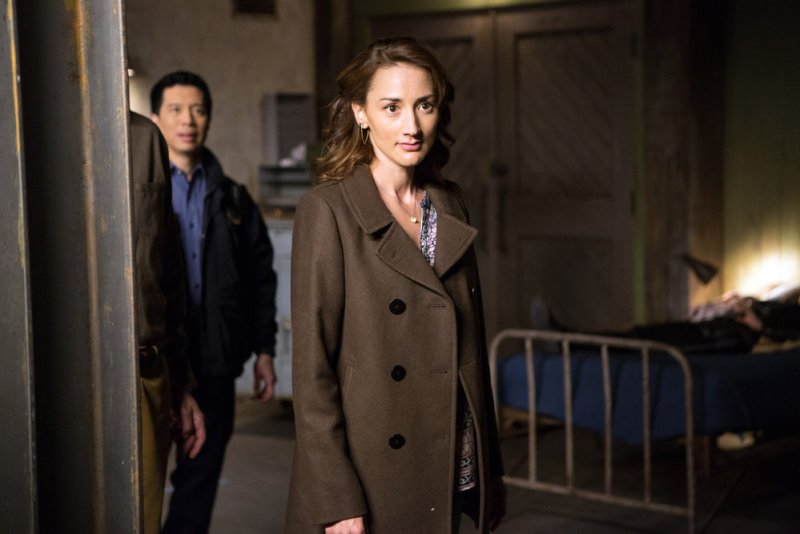 "GRIMM -- ""The Beginning of the End"" Episode 522 -- Pictured: Bree Turner as Rosalee Calvert -- (Photo by: Scott Green/NBC)"