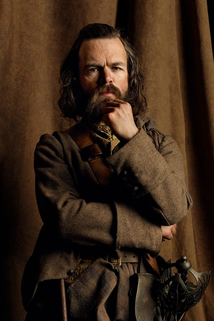 Good night, sweet prince. May fountains of whisky greet you in heaven. (Stephen Walters as Angus Mhor.)