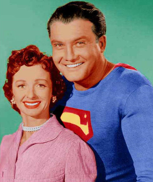 Noel Neill and George Reeves (Image Courtesy TheRedlist.com)