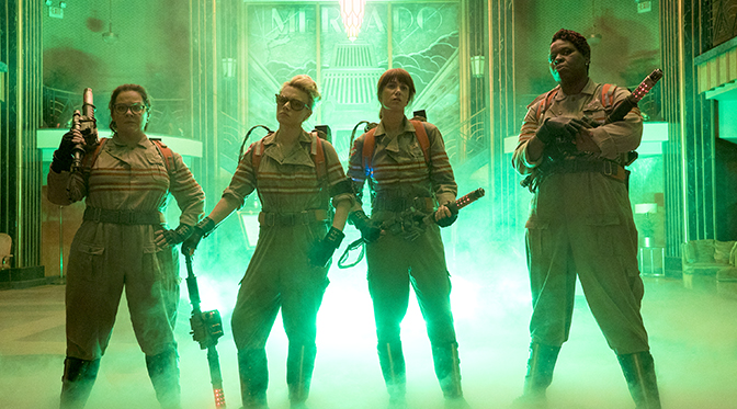 Ghostbusters (2016) - Hello, Holtzman!
