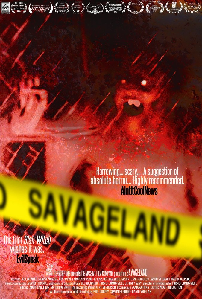 Savageland poster