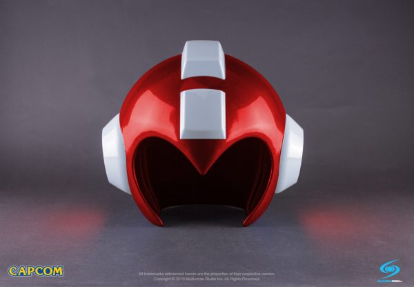 Only 800 units of this wearable Mega Man helmet were produced. Made with high-quality ABS plastic, it includes a display box and functioning LEDs.