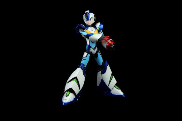 """The X-Boost is 6"""" tall, features an LED in the booster, and includes multiple accessories and a stand."""