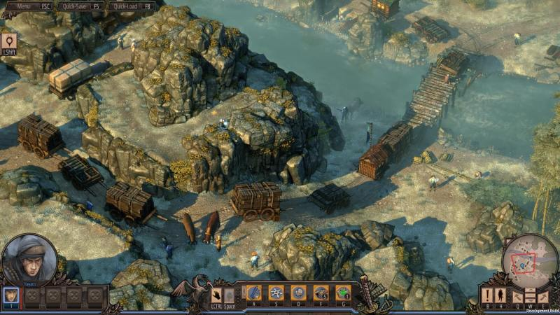 Depicted from an isometric viewpoint, players will have full control over the camera.