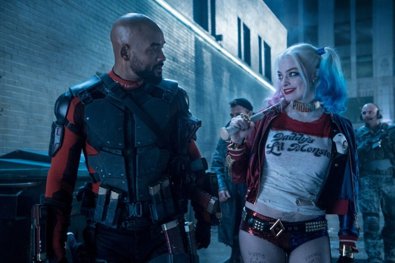 Suicide Squad Deadshot and Harlie Quinn