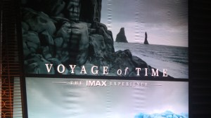 VOYAGE OF TIME premiere