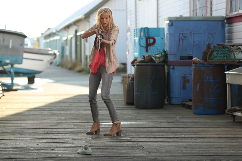 Ashley's got a gun. Her whole world's come undone. From lookin' straight at the sun. (ABC/Jack Rowand) JESSY SCHRAM