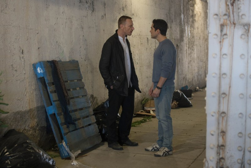 """THE EXORCIST: L-R: Ben Daniels and Alfonso Herrera in the """"Lupus in Fabula"""" episode of THE EXORCIST airing Friday, Sept. 30 (9:00-10:00 PM ET/PT) on FOX. ©2016 Fox Broadcasting Co. Cr: Jean Whiteside/FOX"""