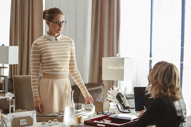 Kara makes up her mind? (Bettina Strauss/The CW)