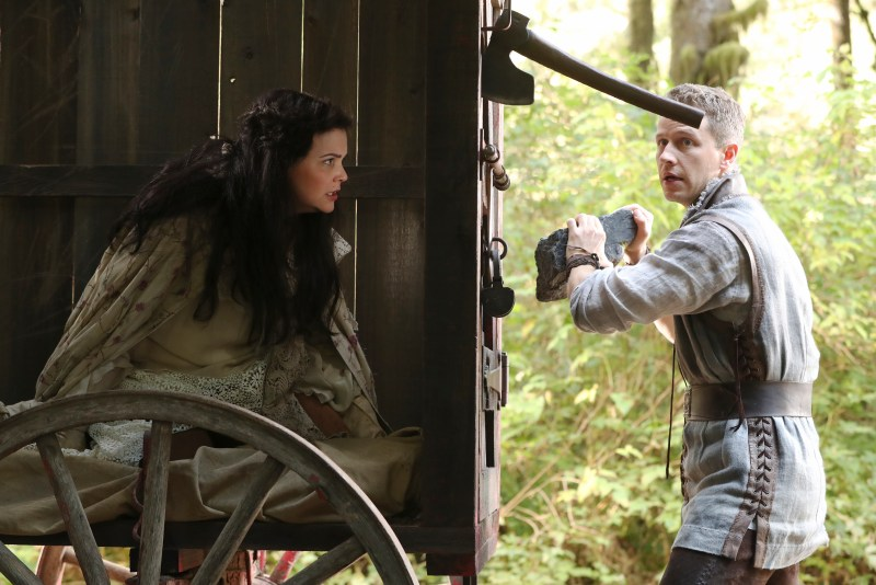 He didn't even axe her what her name was. (ABC/Jack Rowand) GINNIFER GOODWIN, JOSH DALLAS