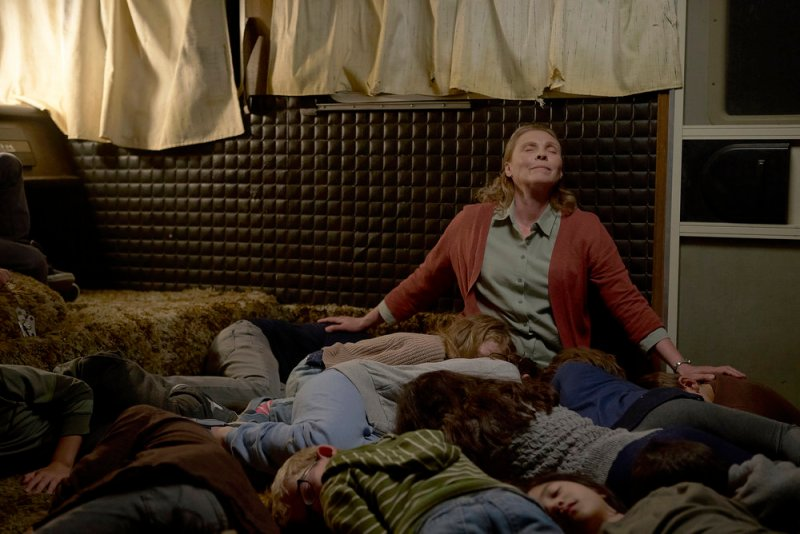 Mrs. Booth's Troop of Murderous Children get tuckered out easily.