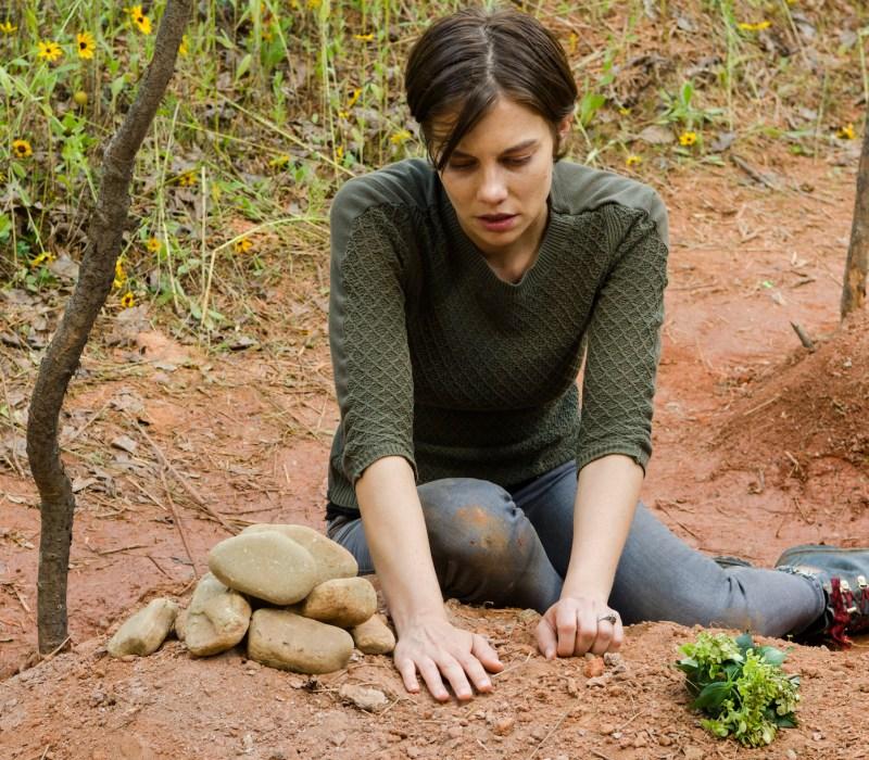 Lauren Cohan as Maggie Greene- The Walking Dead _ Season 7, Episode 5 - Photo Credit: Gene Page/AMC
