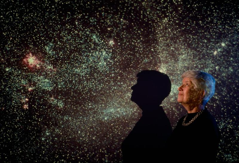 Vera Rubin at the Carnegie Institute of Washington, D.C. (Carnegie Institution)
