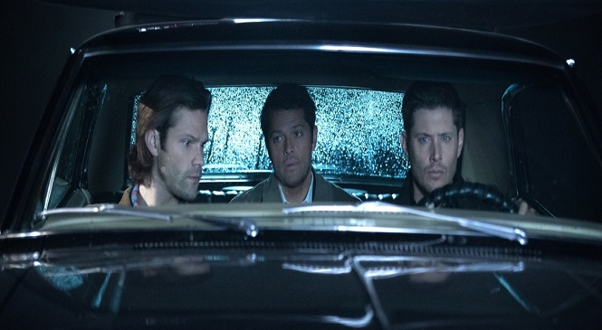 SUPERNATURAL Sticks Mary in the Middle