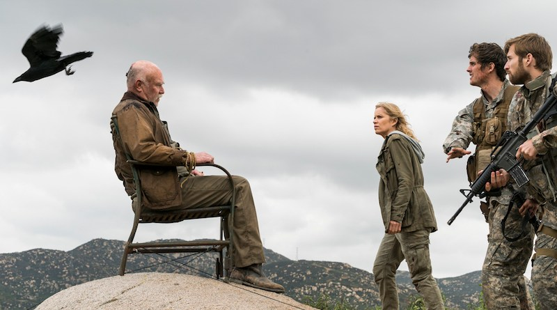 ZOMBPOCALYPSE NOW: FEAR THE WALKING DEAD Stumbles But Doesn't Quite Fall