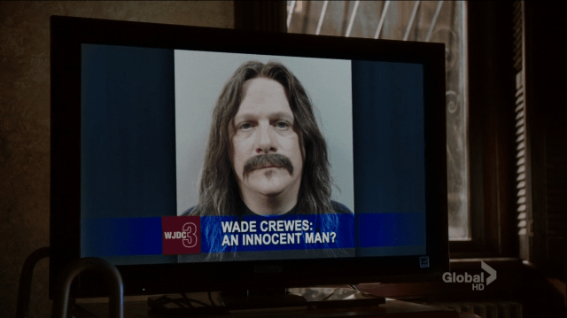 Wade Crewes, the man who at least grooms himself to look like a murdered - Elementary