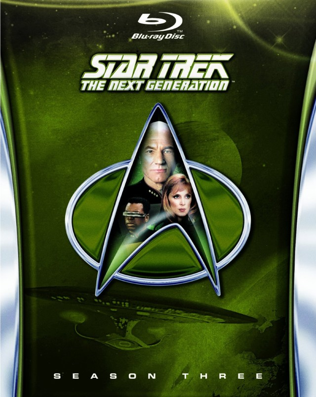Star Trek The Next Generation Season3 bluray - Star Trek TNG