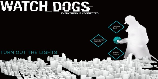 Watch Dogs banner - everythong is connected