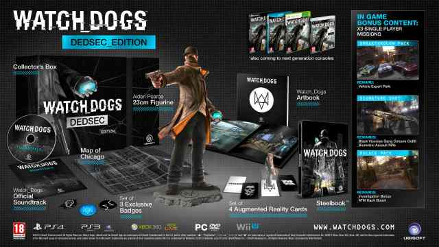 Watch Dogs Dedsec Edition - Aiden Pearce figurine