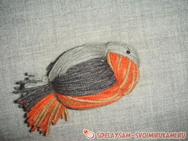 Pájaro de hilos