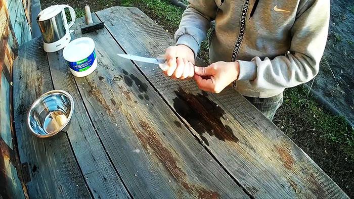 Hur man gör ett fast och anatomiskt handtag för en kniv i 10 minuter