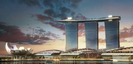 Luxury Hotel design--marina bay sands