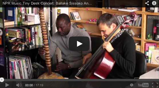 Ballake Sissoko & Vincent Segal Top NPR  'Favorite Concerts of 2013'