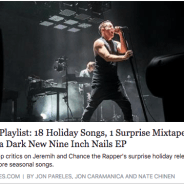 "The New York Times includes The Silver Lake Chorus' new video of ""Sister Winter"" in their latest Holiday Playlist"