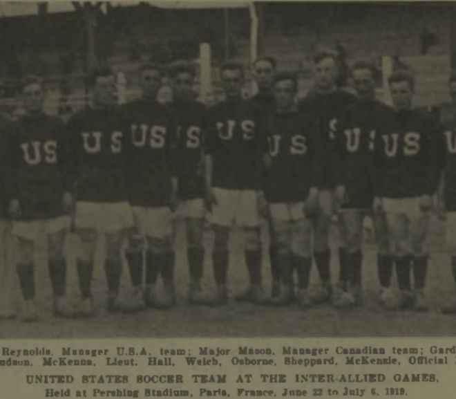 The Inter-Allied Games: United States