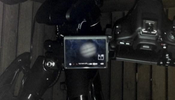 JupiterDSLR Screen