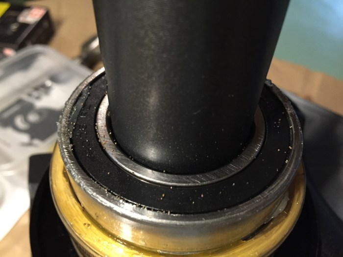 RA Axis before cleaning