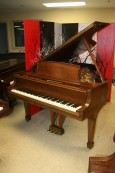 Used Steinway L Grand Piano, Walnut 1975 Excellent Professionally Refurbished 11/2013 $18,500.