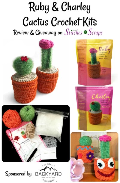Cactus Crochet Amigurumi Kit FROGandTOAD Creations by FROG-and ... | 608x400