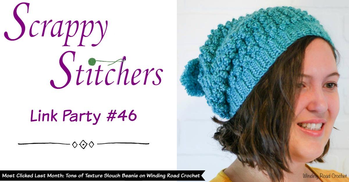 b666c36ee2 Scrappy Stitchers Link Party  46 - Stitches  N  Scraps