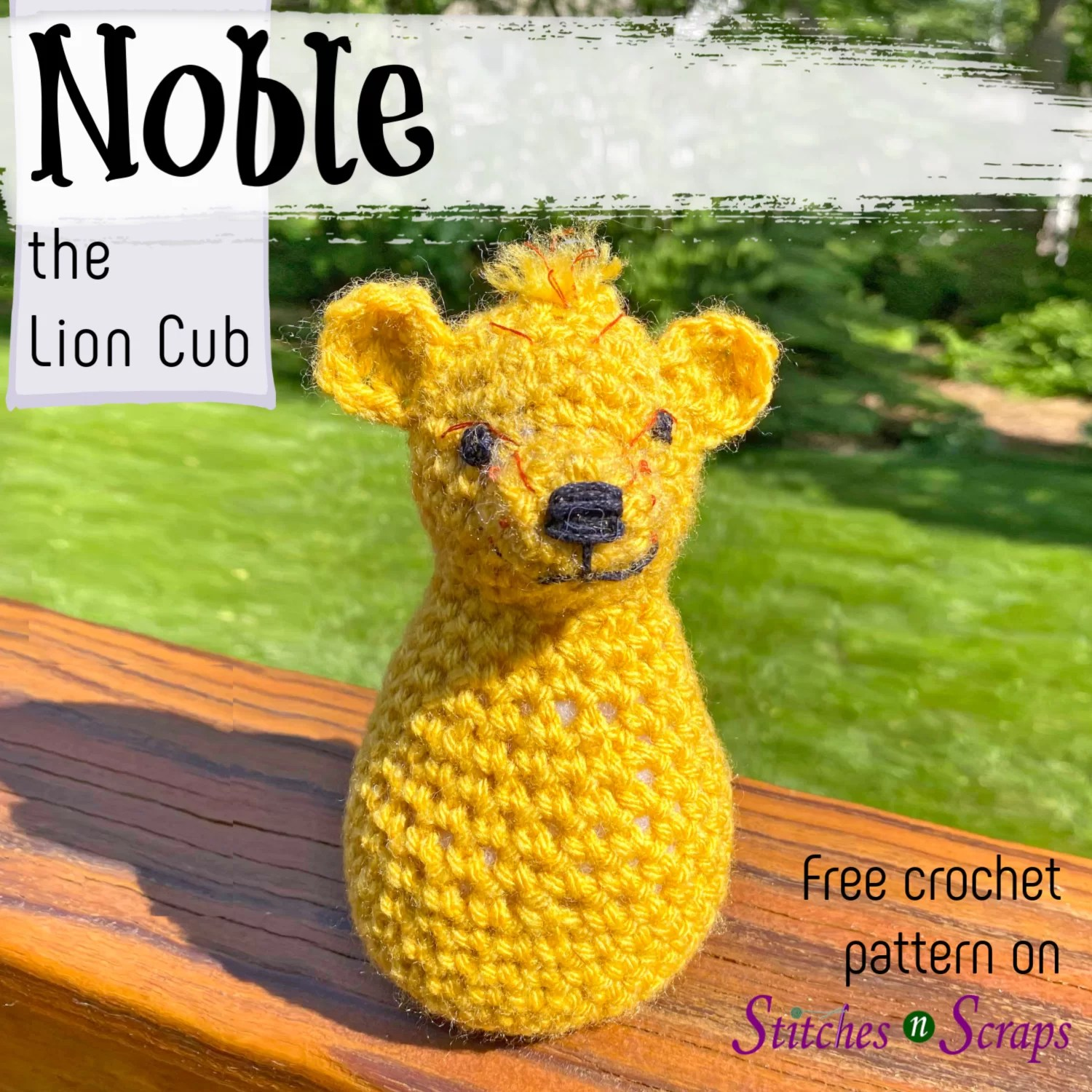 Lion Family amigurumi crochet patterns (lion, lioness and cub ... | 1500x1500