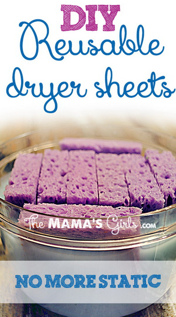 5 homemade dryer sheets - Homemade Dryer Sheets with Lots  of Tutorials