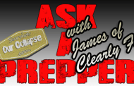 Interview: Ask a prepper – James
