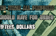 10 disaster prep & survival items for 15 dollars or less