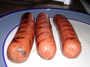 Hotdogs left out on the grill can spoil without detection