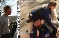 Thug Gangbanger tries to shoot cop; instantly brought to reality (and pavement) VIDEO