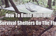 How To Build multiple Survival Shelters On The Fly
