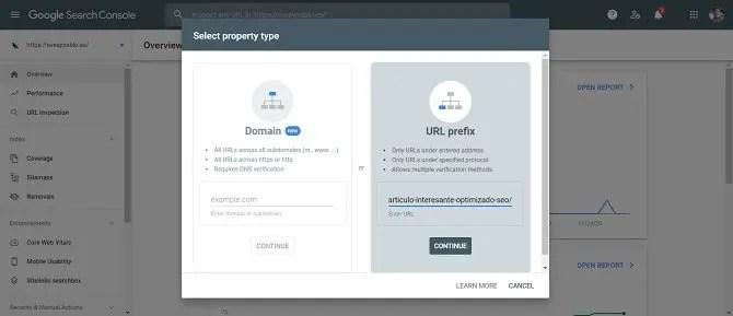 Svea y Pablo - la indexación en Google Search Console