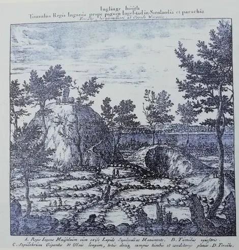 Documento sobre Inglinge Hög en 1500