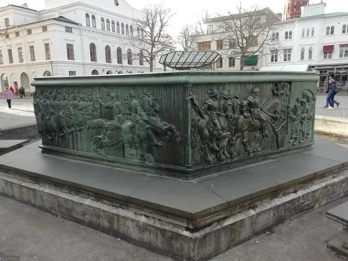 Svea y Pablo - Vasabrunnen en Kalmar